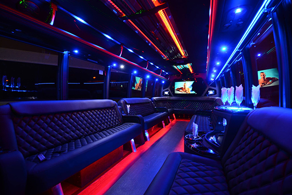40 Person Party Bus Rental Charlotte