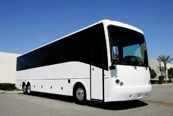 Charlotte 50 Passenger Charter Bus